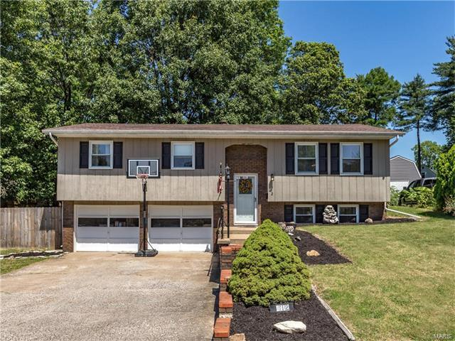 412 Camelot Drive, Collinsville, IL 62234 (#17049113) :: Holden Realty Group - RE/MAX Preferred