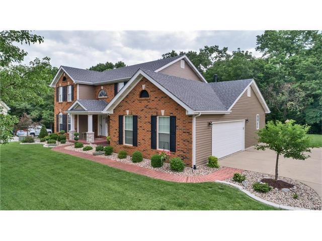5755 Westchester Meadow Drive, Weldon Spring, MO 63304 (#17049524) :: Kelly Hager Group | Keller Williams Realty Chesterfield