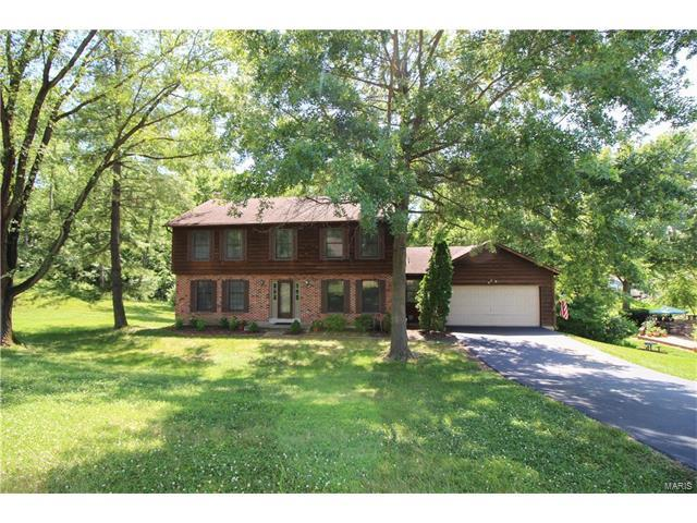 12854 Nanell Lane, Sunset Hills, MO 63127 (#17049903) :: The Becky O'Neill Power Home Selling Team