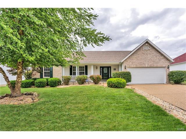 2335 Hidden Deer Drive, O Fallon, MO 63368 (#17050515) :: Holden Realty Group - RE/MAX Preferred