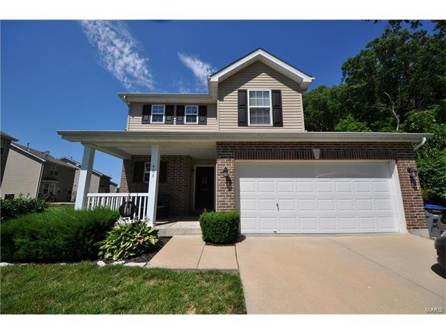 403 Dusty Brook Drive, O Fallon, MO 63366 (#17050530) :: Kelly Hager Group | Keller Williams Realty Chesterfield