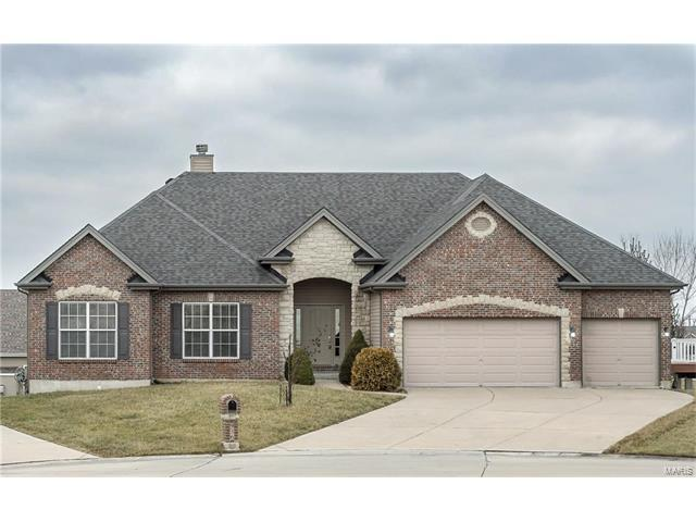 936 Sill Ridge Drive, Dardenne Prairie, MO 63368 (#17050564) :: The Kathy Helbig Group