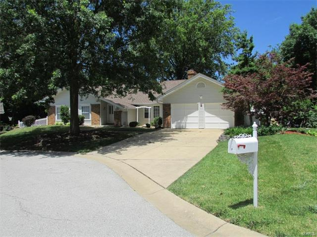 2 Saw Mill Way, Saint Charles, MO 63303 (#17050626) :: Clarity Street Realty