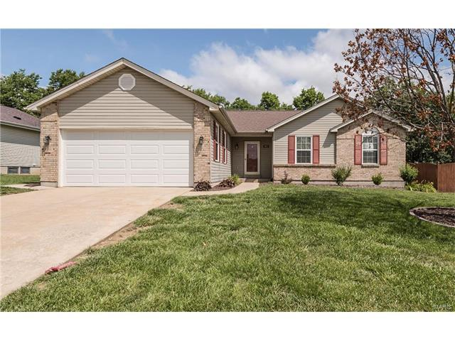 741 Ballantrae Drive, Wentzville, MO 63385 (#17050725) :: Kelly Hager Group | Keller Williams Realty Chesterfield
