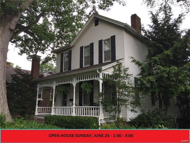605 W High Street, Edwardsville, IL 62025 (#17050813) :: Holden Realty Group - RE/MAX Preferred