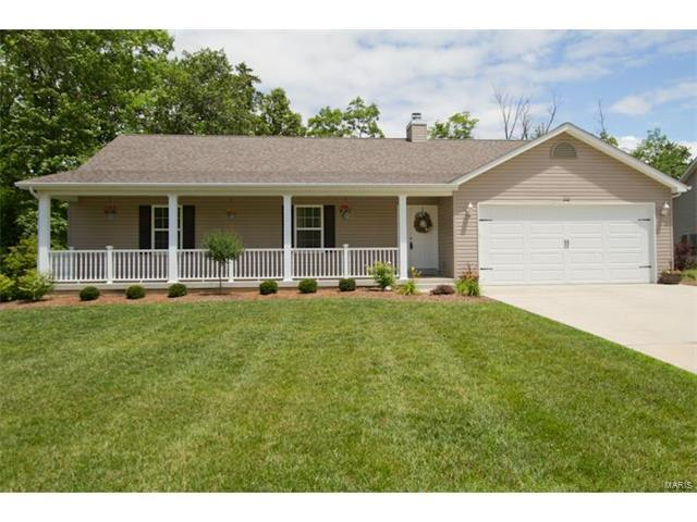 240 Gardenia Drive, Troy, MO 63379 (#17050832) :: Holden Realty Group - RE/MAX Preferred