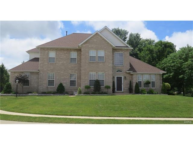 1717 Cameron Court, Edwardsville, IL 62025 (#17050993) :: Holden Realty Group - RE/MAX Preferred