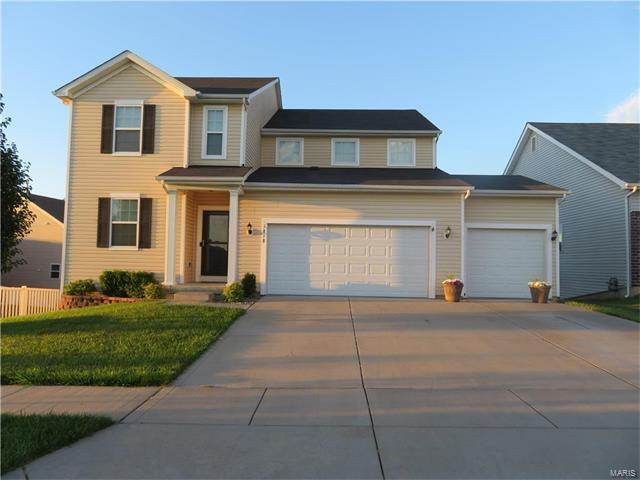 1818 Sterling Oaks, Saint Peters, MO 63376 (#17051219) :: RE/MAX Vision