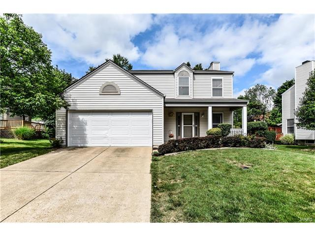 619 Cascade Lake Court, Ballwin, MO 63021 (#17051234) :: Kelly Hager Group | Keller Williams Realty Chesterfield