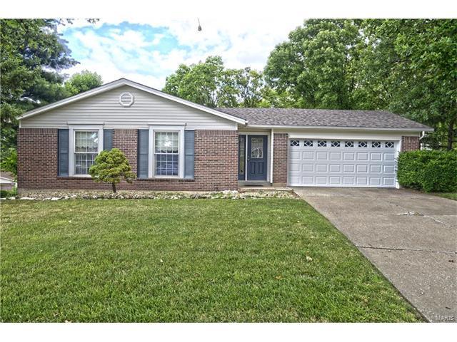 3642 Harmann Estates Court, Bridgeton, MO 63044 (#17051319) :: Johnson Realty