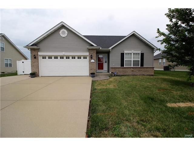 617 Moorland Circle, Mascoutah, IL 62258 (#17051343) :: Fusion Realty, LLC