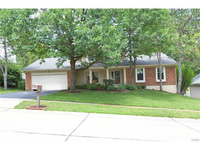 2006 Willow Lake Drive, Chesterfield, MO 63017 (#17051352) :: RE/MAX Vision
