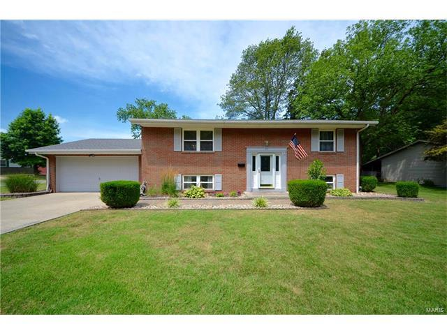 351 S 5th Street, Mascoutah, IL 62258 (#17055663) :: Fusion Realty, LLC