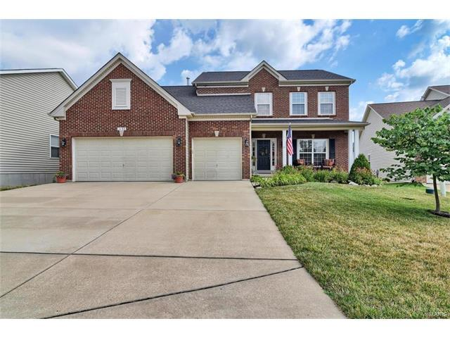 1153 Hawkins Bend Place, Fenton, MO 63026 (#17057271) :: Gerard Realty Group