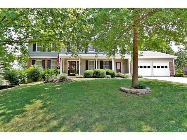 2004 Fairway Bend, Chesterfield, MO 63017 (#17057325) :: Gerard Realty Group