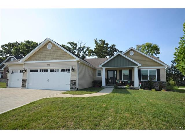 130 Albany Manor Drive, Foristell, MO 63348 (#17057432) :: Gerard Realty Group