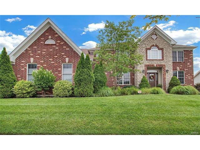 2604 Wynncrest Ridge Drive, Chesterfield, MO 63005 (#17057509) :: Gerard Realty Group
