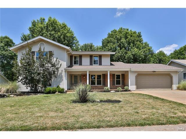 16059 Meadow Oak Drive, Chesterfield, MO 63017 (#17057640) :: Gerard Realty Group