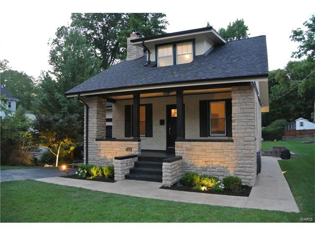 419 Lee Avenue, Webster Groves, MO 63119 (#17058314) :: Gerard Realty Group
