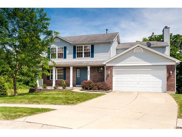 808 Whisper Creek, Wentzville, MO 63385 (#17059086) :: The Kathy Helbig Group