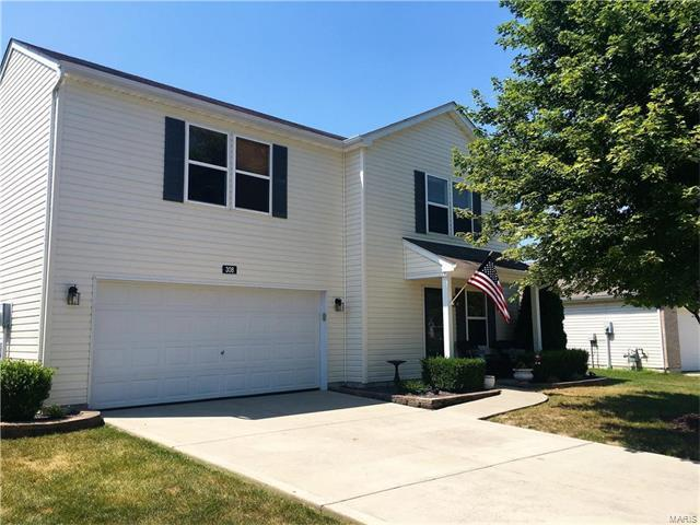 308 Falling Leaf Way, Mascoutah, IL 62258 (#17059934) :: Holden Realty Group - RE/MAX Preferred