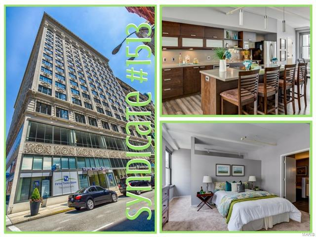 915 Olive #1513, St Louis, MO 63101 (#17060560) :: Clarity Street Realty