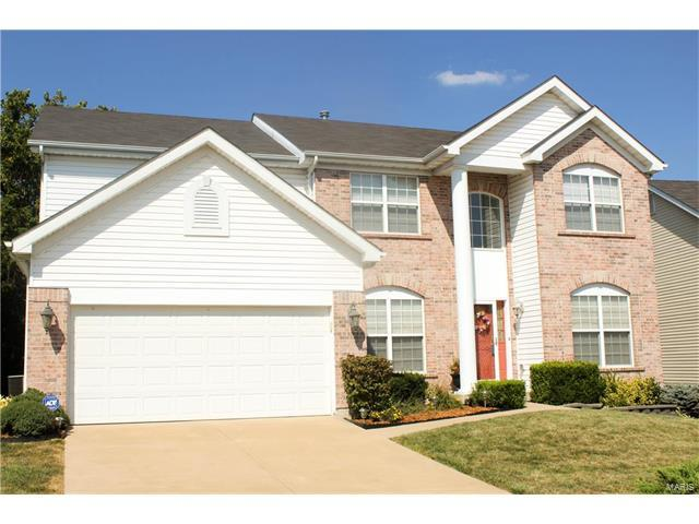 4045 Ashbury Crossing Drive, Florissant, MO 63034 (#17061551) :: Sue Martin Team