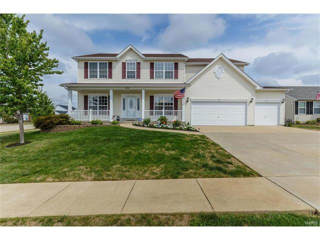 124 Bear Claw Drive, Wentzville, MO 63385 (#17062222) :: Clarity Street Realty
