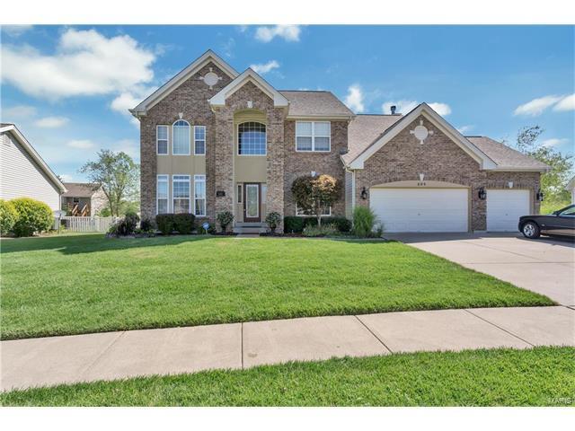 804 Brockwell, Dardenne Prairie, MO 63368 (#17062515) :: The Kathy Helbig Group