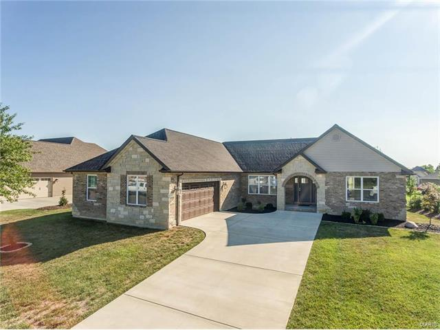 3408 Piney Court, Swansea, IL 62226 (#17063821) :: Holden Realty Group - RE/MAX Preferred