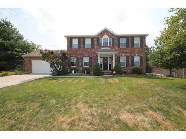 20 Eden Park Boulevard, Shiloh, IL 62269 (#17064330) :: Holden Realty Group - RE/MAX Preferred