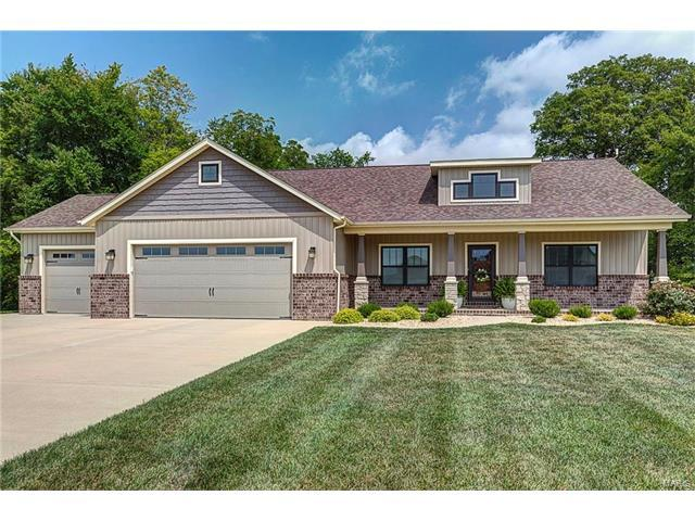 8617 View Point Lane, Troy, IL 62294 (#17064382) :: Holden Realty Group - RE/MAX Preferred