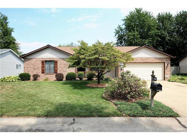 240 Mimosa Avenue, Swansea, IL 62226 (#17064774) :: Holden Realty Group - RE/MAX Preferred