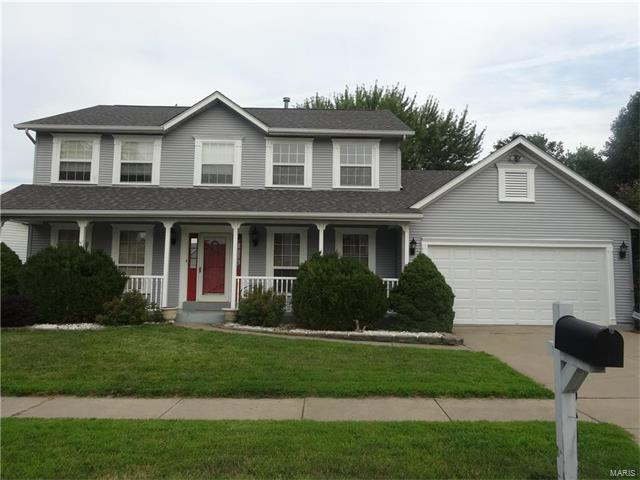 1640 Cobblestone Creek Drive, Florissant, MO 63031 (#17064899) :: Clarity Street Realty