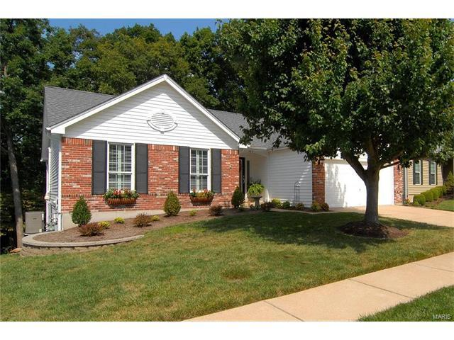 569 Wetherby Terrace, Ballwin, MO 63021 (#17064918) :: The Becky O'Neill Power Home Selling Team