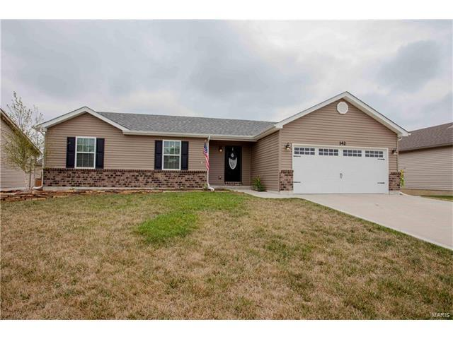 142 Shadow Pointe Drive, Wentzville, MO 63385 (#17065057) :: Clarity Street Realty
