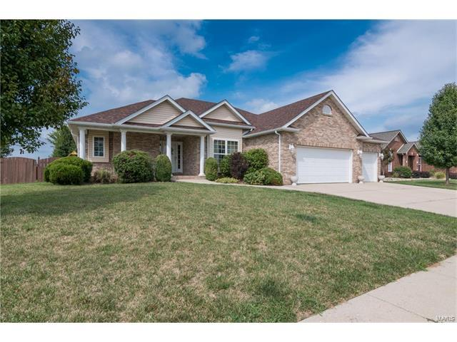 323 Aberdeen Drive, Glen Carbon, IL 62034 (#17065364) :: Clarity Street Realty