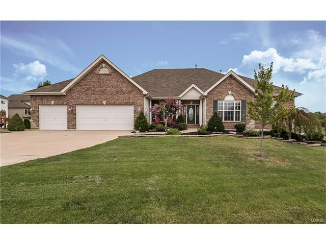 417 Highland Meadows Place, Wentzville, MO 63385 (#17065512) :: Kelly Hager Group | Keller Williams Realty Chesterfield