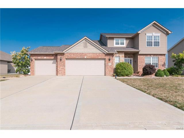 9723 Weatherby Street, Mascoutah, IL 62258 (#17065530) :: Holden Realty Group - RE/MAX Preferred