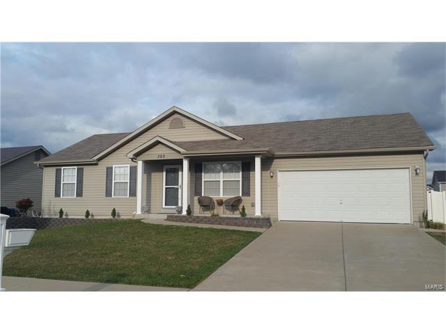 320 Aspen Creek Drive, Wentzville, MO 63385 (#17065545) :: Kelly Hager Group | Keller Williams Realty Chesterfield