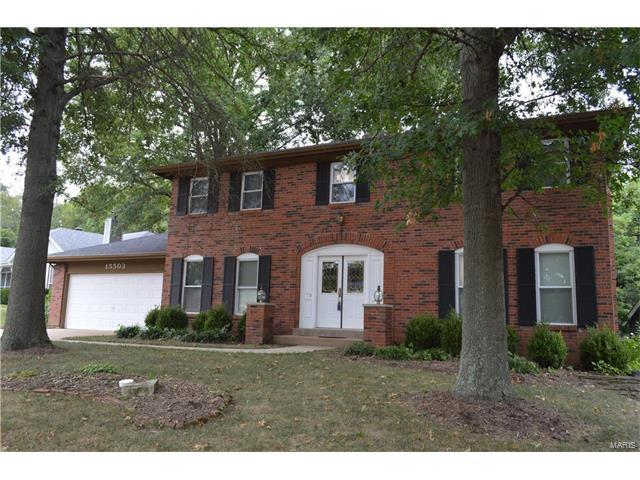 15503 Highcroft Drive, Chesterfield, MO 63017 (#17065600) :: The Kathy Helbig Group