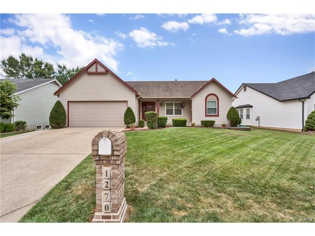 1270 Colby Drive, Saint Peters, MO 63376 (#17065645) :: Kelly Hager Group | Keller Williams Realty Chesterfield