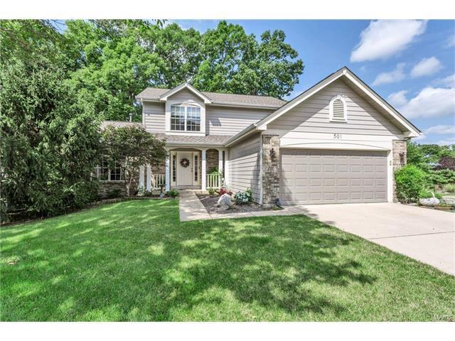 501 Steepleton, Ballwin, MO 63021 (#17065660) :: The Becky O'Neill Power Home Selling Team