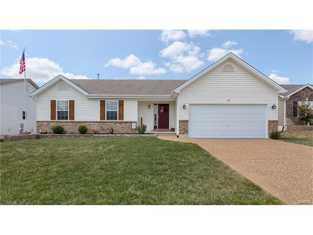 176 Shadow Pointe Dr, Wentzville, MO 63385 (#17065785) :: Kelly Hager Group | Keller Williams Realty Chesterfield