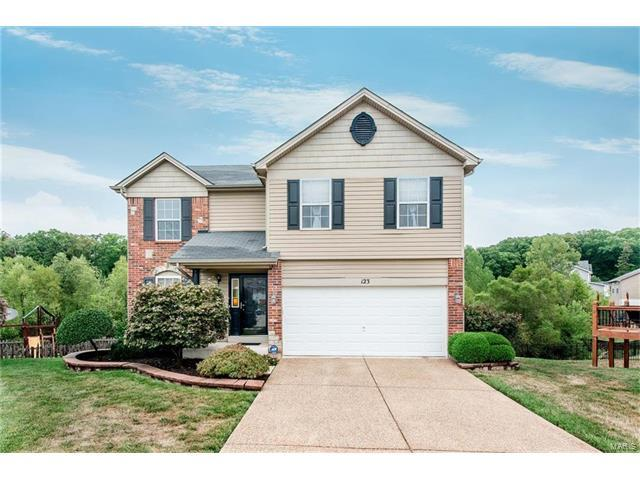 123 Katie Lynn Court, Wentzville, MO 63385 (#17066819) :: Kelly Hager Group | Keller Williams Realty Chesterfield