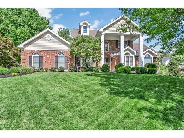 17027 Kimwood Court, Chesterfield, MO 63005 (#17067255) :: RE/MAX Vision