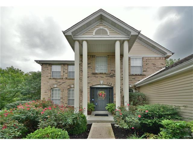 608 Charleston Oaks, Ballwin, MO 63021 (#17067365) :: Holden Realty Group - RE/MAX Preferred