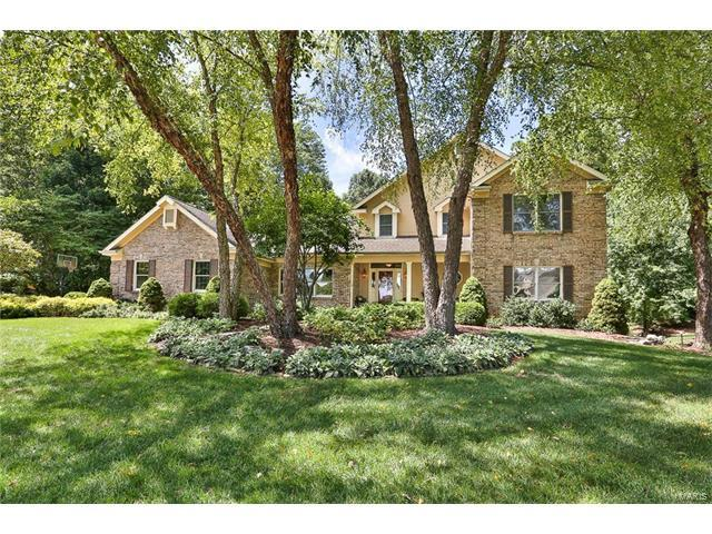 1400 Jenwick Court, Chesterfield, MO 63005 (#17067396) :: RE/MAX Vision