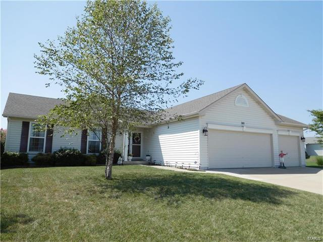 381 Turkey Roost Lane, Troy, MO 63379 (#17067524) :: Holden Realty Group - RE/MAX Preferred