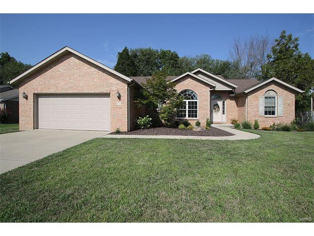 432 Meadowlark, Belleville, IL 62220 (#17067871) :: Holden Realty Group - RE/MAX Preferred